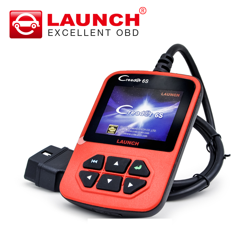 Launch X431 creader 6s Creader VI Plus Code Reader OBD2 Auto Scanner Original Update On Official Website(China (Mainland))