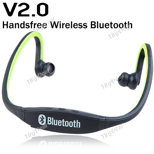 Sports Stereo Wireless Bluetooth Headset Earphone Headphone for iPhone 5 5S 4S Galaxy S4 S3 HTC LG Smartphone Free Shipping