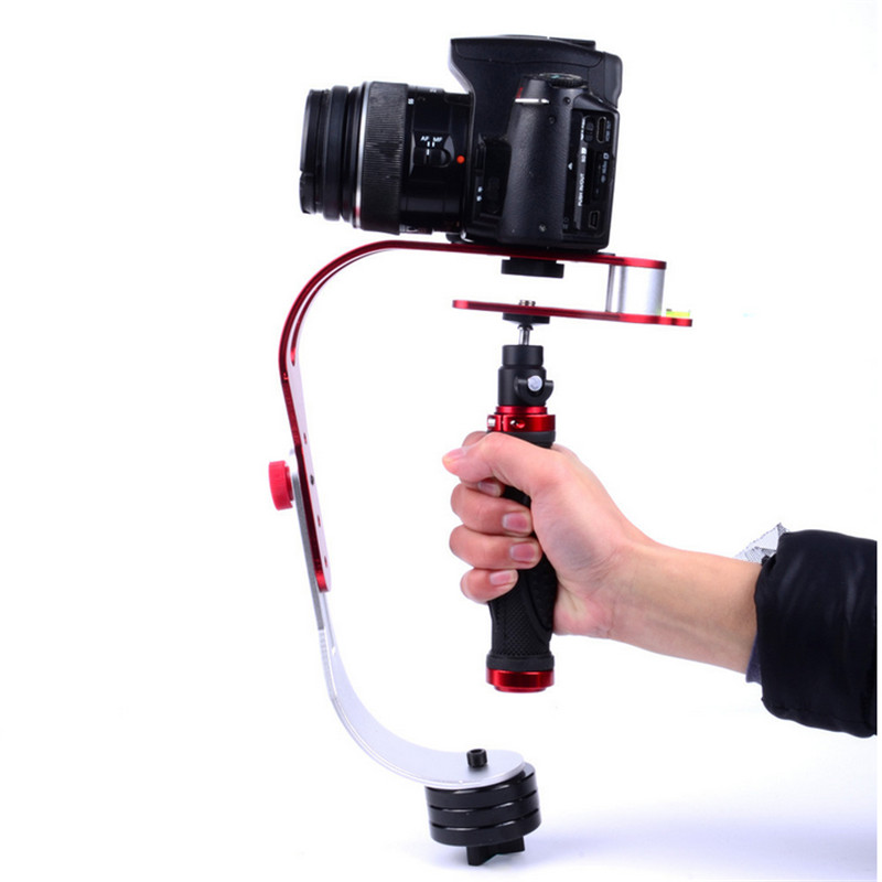 Handheld Video Stabilizer Camera Steadicam Stabilizer for Canon Nikon Sony Gopro Hero Phone DSLR DV<br><br>Aliexpress