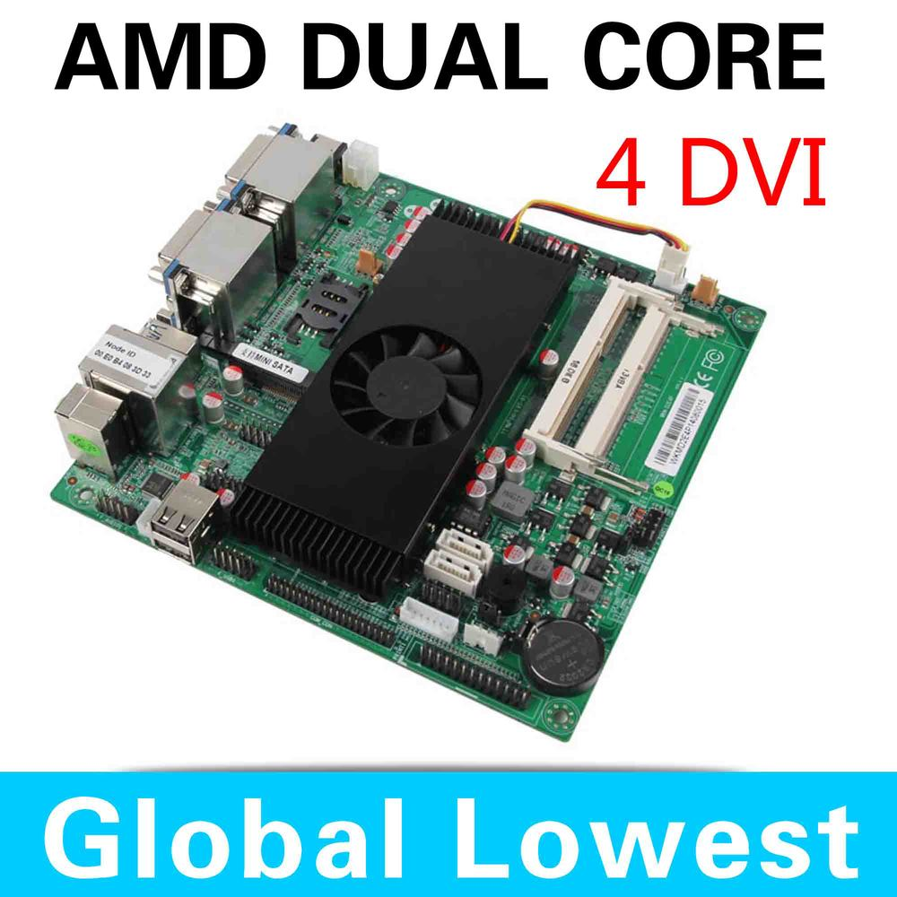 In Stock Big promotion XCY D2E4P MINI ITX motherboard support win7, win8, Linux arm motherboard all-solid motherboard(China (Mainland))