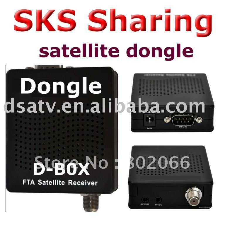 dongle receiver dongle satellite sharing receiver dognle fta(China (Mainland))