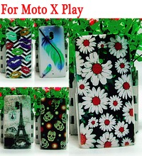 Hard Plastic Fashion Case Moto X3 Lux Cover Motorola X Play (5.5 inches) XT1562 XT1563 Cases Covers - ShenZhen WOW Technology Co., Ltd. store