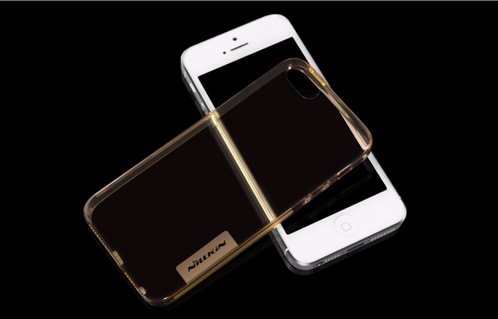 Original NILLKIN Ultra Thin Transparent Nature TPU Case For iPhone 5 5s SE Clear TPU Soft Back Cover Case For iPhone 5 5s Case