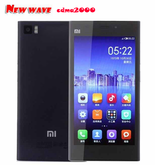 Original Xiaomi Mi3 Cdma 2000 Mobile Phone 5.0 Inch IPS 1080P 8674AB Quad core 13Mp Android 4.4 MIUI V6 Xiaomi M3 Cdma Version(China (Mainland))
