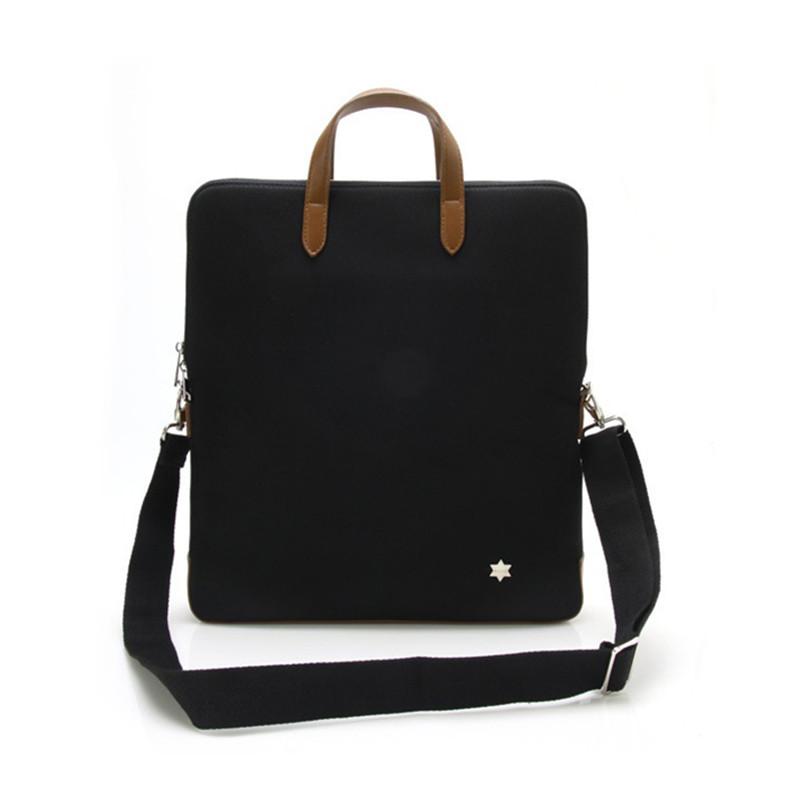 2016 New mens business handbags briefcase  High end oxford section vertical portable briefcase shoulder bag backpack black<br><br>Aliexpress