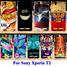 Buy Durable Cell Phone Housing Sony Xperia T2 XM50H D5306 Cases Covers Ultra Dual D5322 D5303 XM50T Shell Hood Skin Back Fundas for $1.28 in AliExpress store