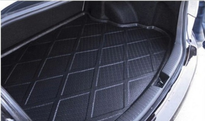 FIT FOR 2013 2014 2015 Ford Kuga Escape Car Styling Rubber Car Trunk Mat BOOT MAT REAR TRUNK LINER CARGO FLOOR TRAY Accessories(China (Mainland))