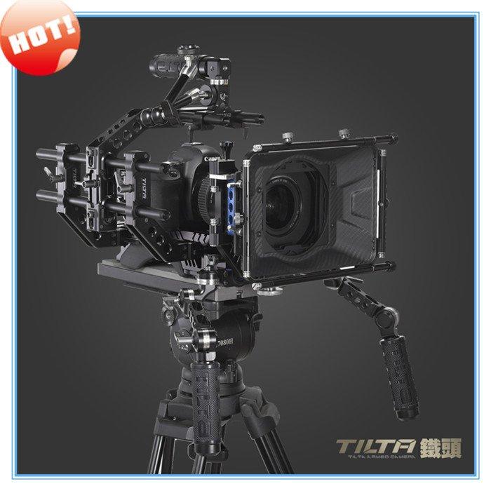 Tilta III DSLR shoulder mount Rig Standard Kit Best Follow focus Matte Box Carbon Firber 15mm rod system Free shipping(China (Mainland))