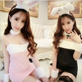 New Sexy Cosplay Women Hot Halter Bunny Girl Erotic Costume Babydoll Sexy Lingerie Uniform Sex Products