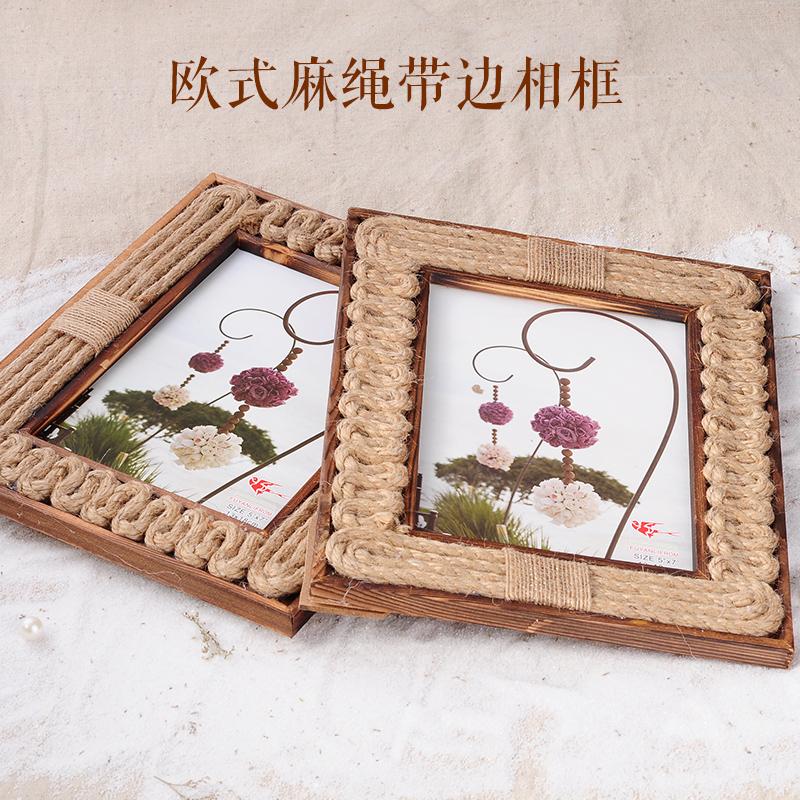 Frame 567 -inch hemp rope swing sets jewelry handmade retro rural simple and natural(China (Mainland))