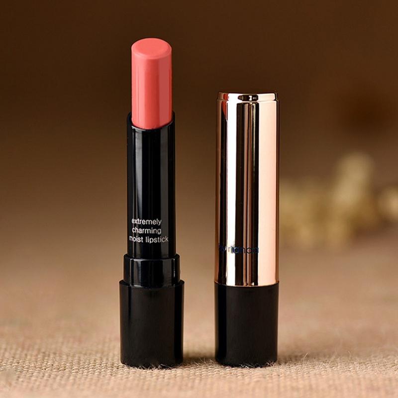 New Beauty Batom Famous Brand Makeup Matte Lipstick Professional Waterproof Red Nude Purple Lipstick Fashion Cosmetic(China (Mainland))