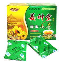 12 Tea Bag Organic Honey Ginger Tea Instant Coffee Warm Stomach Ginger Tea With Honey Good