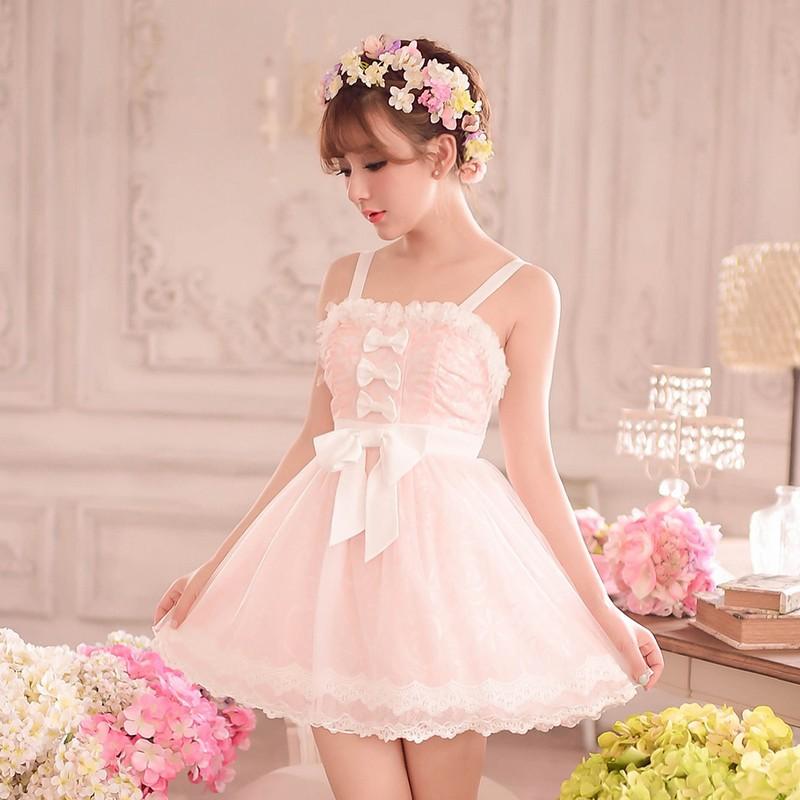 Princess sweet lolita dress Candy rain sweet Summer ...