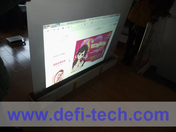 1.524m * 3m Rear gray projection screen film,,Perfect advertisement medium(China (Mainland))