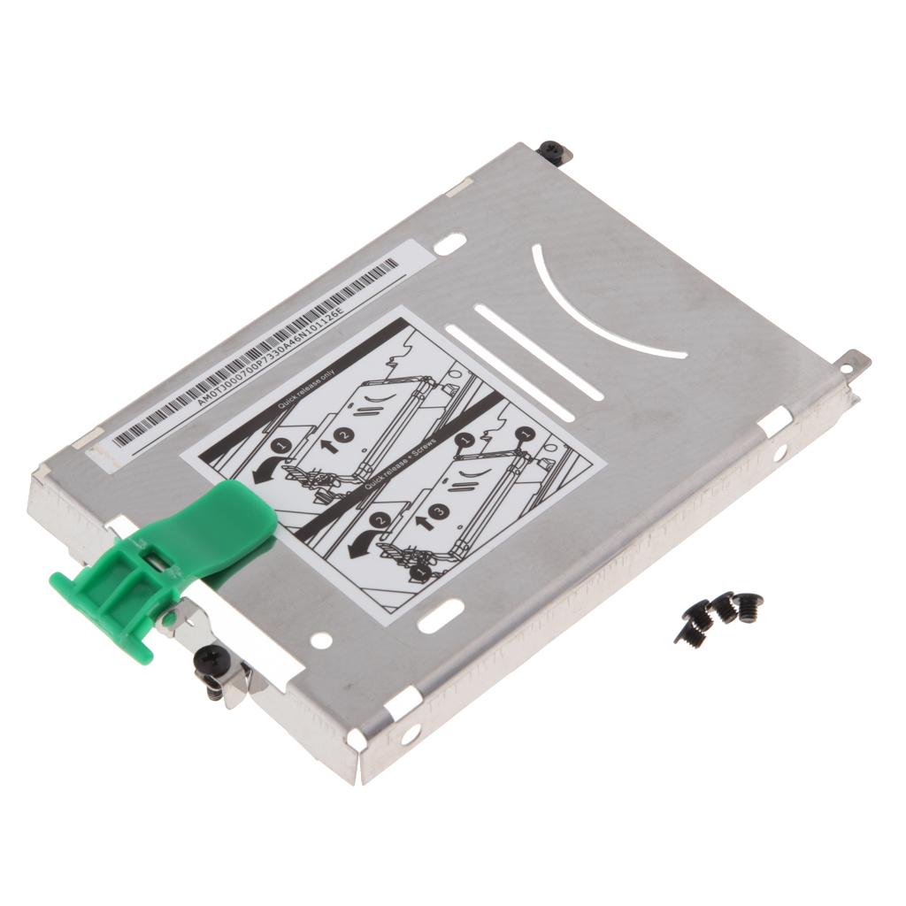 HDD Hard Drive Disk Caddy Bracket Tray & Screws For HP ZBOOK 15 ZBOOK 17 G1 G2 Hard Drive Caddy Tray