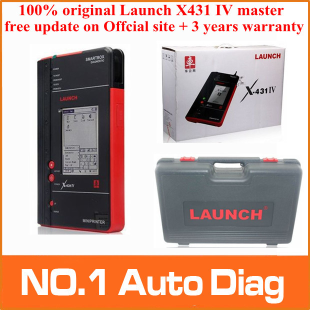 DHLEMS free shipping[Dealer Code:86A] 2015 New arrival 100% Original Launch X431 IV master update on Offcial site in any country(China (Mainland))