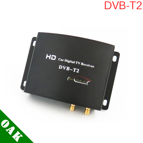 [Free Shipping] M789 HD Dual Tuner DVB-T2 Digital Car Receiver High Speed(160-180km/h) for Russia/Thailand/Indonesia/Singapore(China (Mainland))