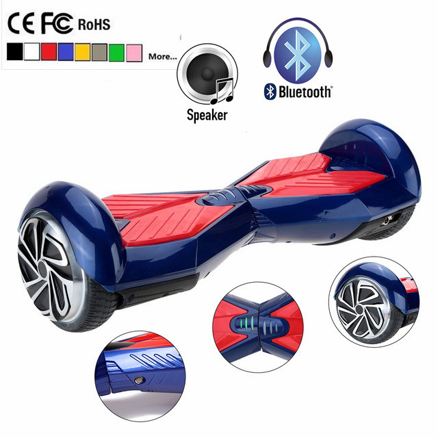 Self Balancing scooter Hoverboard brushless motor 4.4Ah battery Smart Balance Unicycle two 2 wheel Electric Standing Scooter(China (Mainland))
