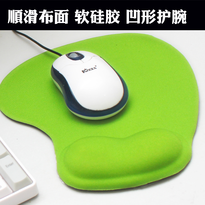 wrister mousepad computer wrist pad 3D cartoon silicone cloth wrist pad(China (Mainland))