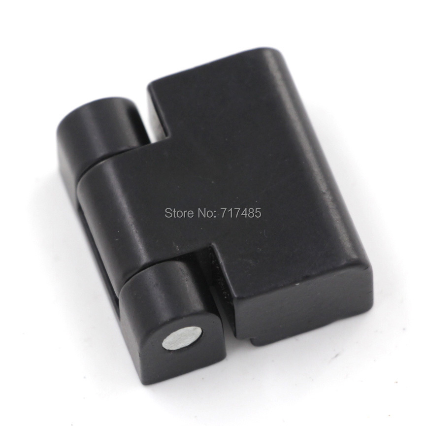 Black Right Opening Hinge for Electricity Cabinet Door (20pcs)(China (Mainland))