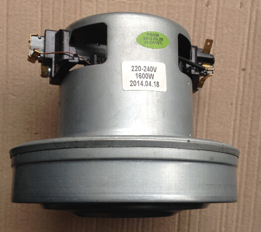 2000W 130mm diameter vacuum cleaner motor Thru-flow motor dry motor(China (Mainland))