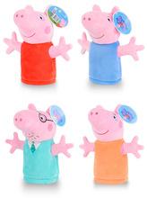 Kids Cartoon Family Pig Hand Puppets Toys(China (Mainland))