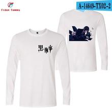 A-1, фотографии, сделанные в 2019 году, Новые Стильные черные футболки с принтом дворецкий милые женские/мужские 2019, горячая Распродажа, летние ...(China)
