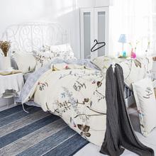 Buy Tree print Duvet cover bedsheet pillowcase 100 Cotton Twin/single full/double queen king set Bedlinen bedding Jogo de cama for $50.00 in AliExpress store