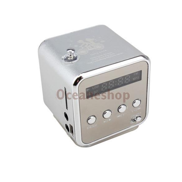 Micro SD TF Speaker Music USB Portable FM Radio Stereo Mini MP3 Player for PC(China (Mainland))
