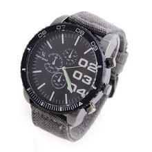 Escala V6 reloj de la marca, retro correa de lona, caja de reloj de diseño, puntero luminoso reloj de cuarzo, ocio deportes exterior men ' s reloj