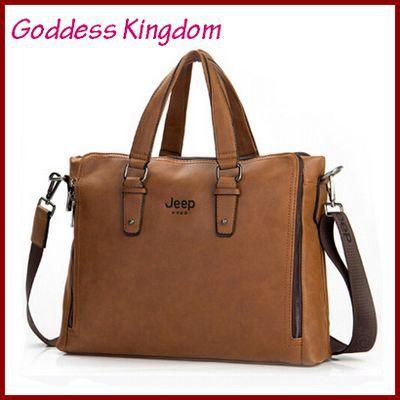 2015 Men's exquisite luxury handbag simple high quality Genuine