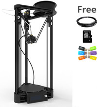 Auto Level Delta Rostock 3D Printer DIY kit with Pulley Injection Model Kossel 3D Printer