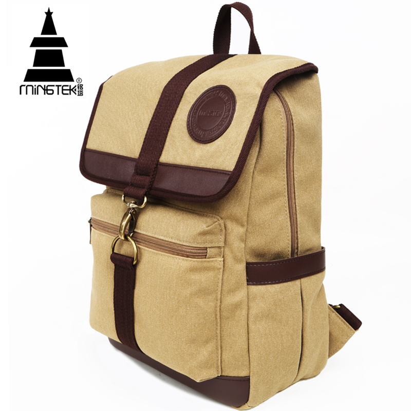 Vintage Canvas Backpack Outdoor Casual Laptop Backpack 14 15.6 inch Rucksacks Unisex College Travel School Bags For Teenagers(China (Mainland))