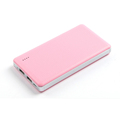 12000mAh Ultra thin Dual USB Socket Gift Lithium Polymer Battery Power Bank Travel External Rechargeable Lightweight