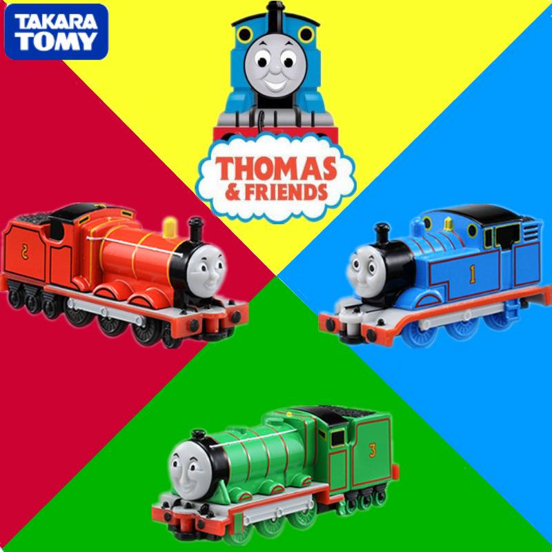 Tomica Tomy 100% Original COM-12 Thomas & Friends The Train 1/61 RC Trains Matchbox (Silver Mica Metalic) Kids Toy Gift(China (Mainland))