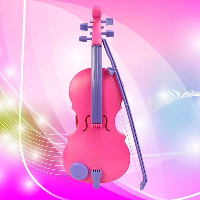 New Arrival New Pink Magic Child Music Violin Children's Musical Instrument Kids Funny Gift Toy Anne(China (Mainland))