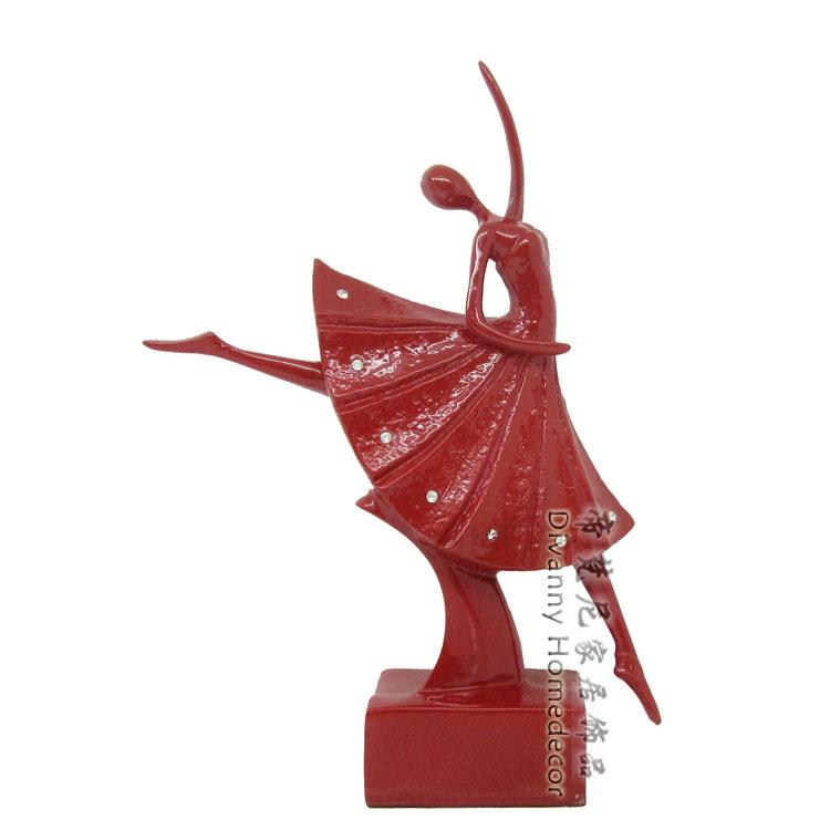 Ningjing ballet modern fashion crafts home furnishings birthday gift furniture decoration(China (Mainland))