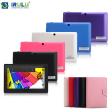 NEW  IRULU  Brand Tablet PC 7″ Android 4.4.2 Quad Core Real 1024*600 HD 16GB Dual Camera 2.0MP  Support 3G WIFI Highest Version
