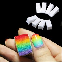 8pcs New Woman Salon Nail Sponges for Acrylic Makeup Manicure Nail Art Accessory(China (Mainland))