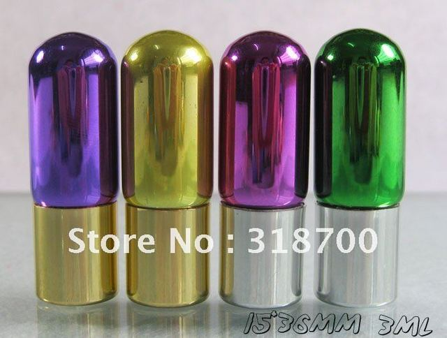 300 x 3ml plating glass roll on bottle, mini perfume oil bottle,fragrance and packaging