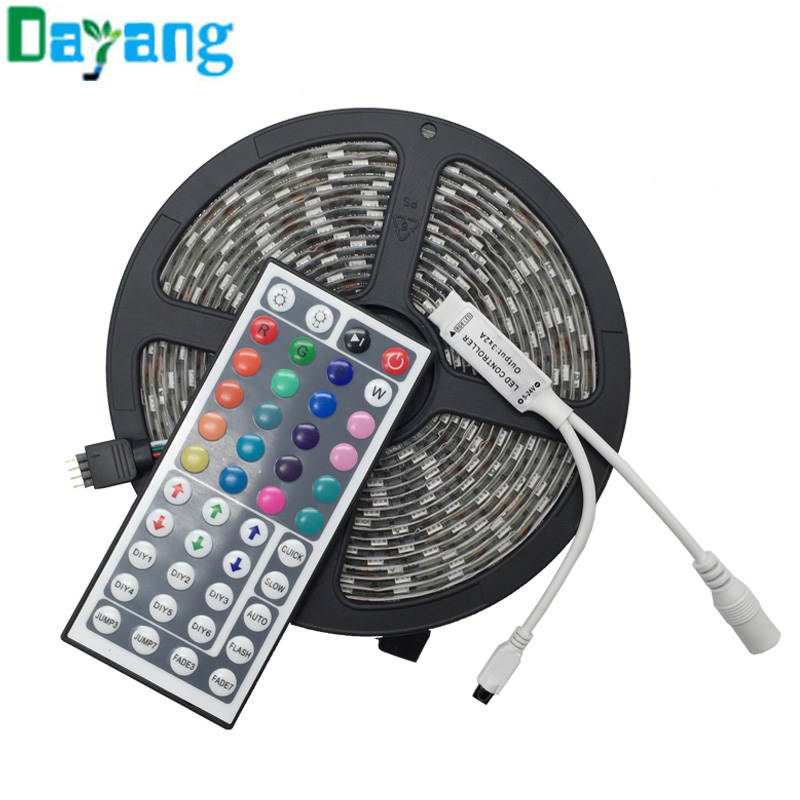 60LEDs/m 5m/roll 5050 SMD LED strip flexible light 12V Waterproof New LED Chip 5050 Brighter than 3528, Super Bright LED strip(China (Mainland))