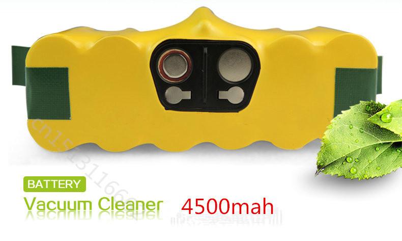 Compatibility for iRobot NI-MH battery 14.4V 4500mAh iRobot Roomba 80501 510 770 780 790 Vacuum Cleaner battery Free Shipping(China (Mainland))