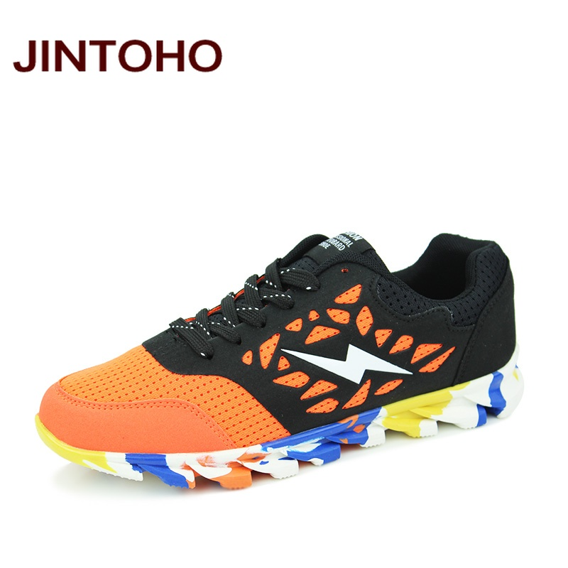 JINTOHO Fashion Breathable Men Sneakers Man Sport Walking Shoes Brand Men Athletic Shoes Imported Sneakers Running Shoes For Men(China (Mainland))
