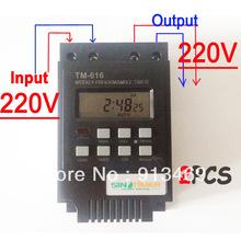 30A еженедельный программируемый таймер 220 В реле времени управления дин-рейке, Бесплатная доставка