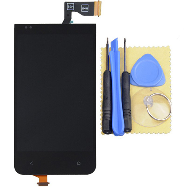 Original LCD Screen display with Touch screen Digitizer replacement For HTC Desire 300+tool(China (Mainland))