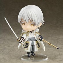 Touken Ranbu Online Figure Tsurumaru Kuninaga Figure Q version 10CM Nendoroid PVC Action Figures Collectible Model Toys