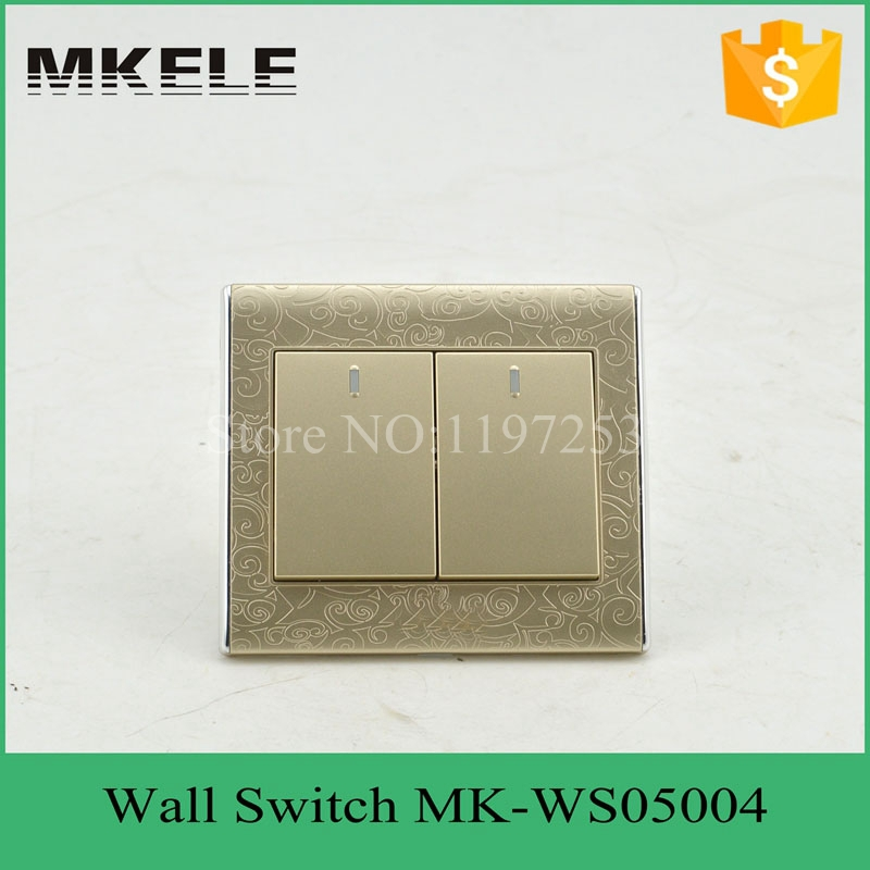 MK-WS05004 PC flame material 10A 250V 2 Gang switch 2 Way smart home touch light wall switch for home decoration<br><br>Aliexpress