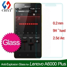 9H Premium Tempered glass Screen Protector For Lenovo A6000 Plus A6000+ Protective Film With Retail package Moist Wipe 50pcs/lot