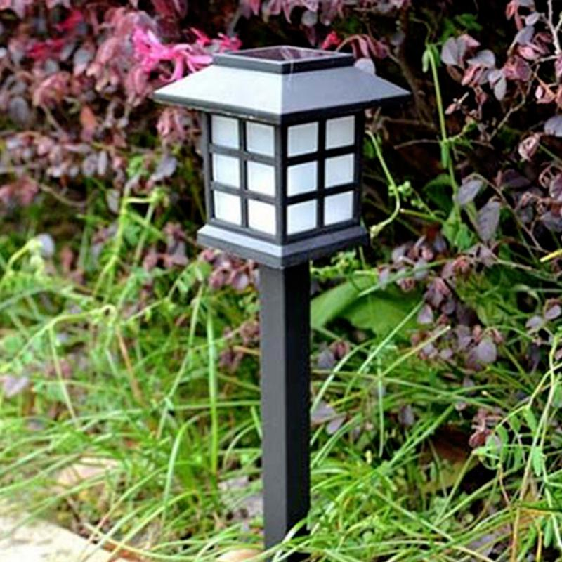 2 pcs solar power lamp led light yard lawn light party. Black Bedroom Furniture Sets. Home Design Ideas