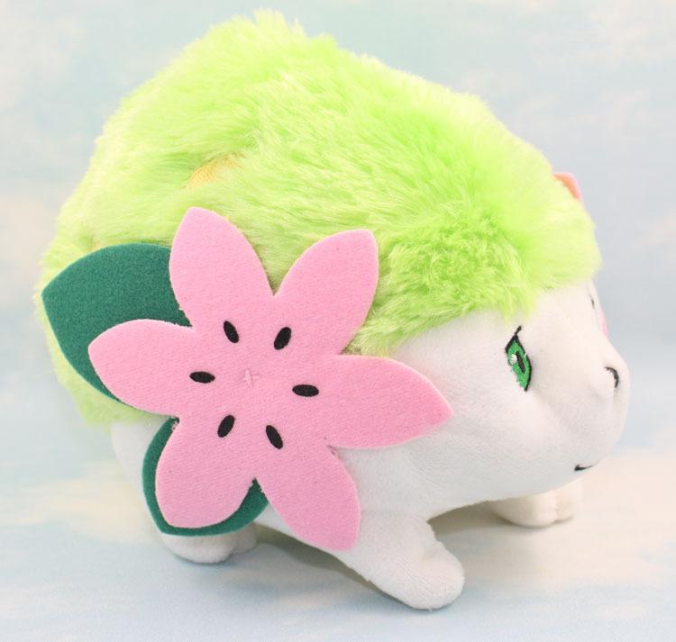 High quality 5pcs/lot 20cm Pokemon Pikachu Soft Plush Doll Shaymin Free shipping<br><br>Aliexpress